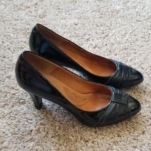 2/$5 Sofft size M black heels
